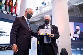 Condecoração do Museu da Língua Portuguesa em São Paulo como Membro-Honorário da Ordem de Camões