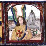 Castelo de Tomar, sede da Ordem de Cristo.