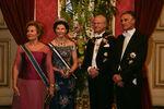 Presidente Cavaco Silva com Reis da Suécia